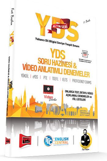 Yargi Yayinlari YDS Altin Seri Soru Hazinesi ve Video Anlatimli Denemeler 2. Baski