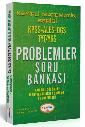 Yediiklim Yayinlari Keyifli Matematik Serisi KPSS-ALES-DGS-YKS-TYT Problemler Tamami Çözümlü Soru Bankasi