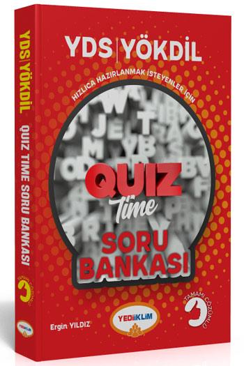 Yediiklim Yayinlari YDS YÖKDIL Quiz Time Tamami Çözümlü Soru Bankasi