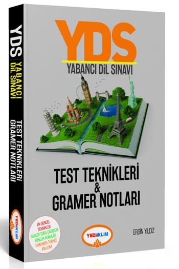 Yediiklim Yayinlari YDS Yabanci Dil Sinavi Test Teknikleri  Gramer Notlari
