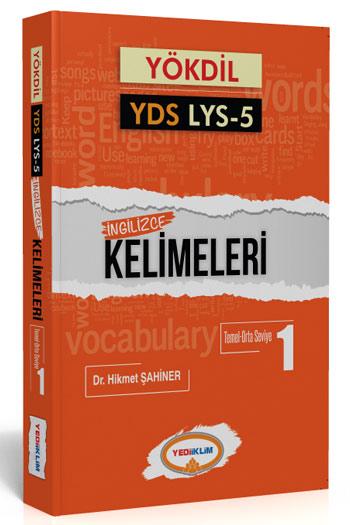 Yediiklim Yayinlari YÖKDIL YDS Ayt-5 Ingilizce Kelimeleri 1