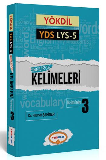 Yediiklim Yayinlari YÖKDIL YDS Ayt-5 Ingilizce Kelimeleri 3