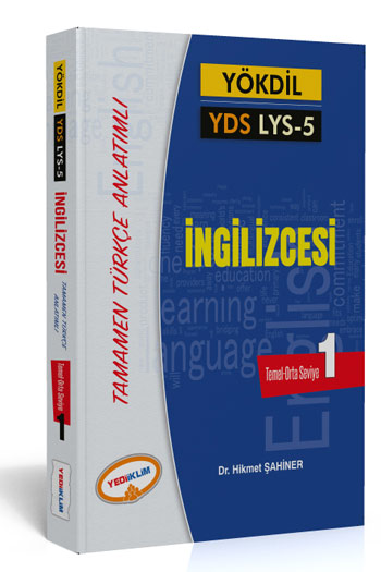 Yediiklim Yayinlari YÖKDIL YDS AYT 5 Ingilizce Kelimeleri Seviye 1