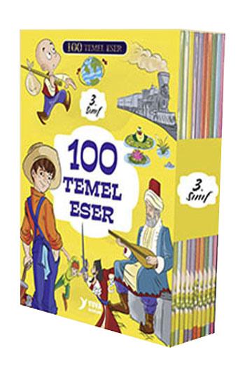 Yuva Yayinlari 100 Temel Eser 3. Sinif 10 Kitap Takim