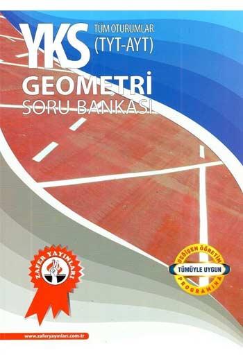 Zafer Yayinlari YKS 1. ve 2. Oturum TYT AYT Geometri Soru Bankasi