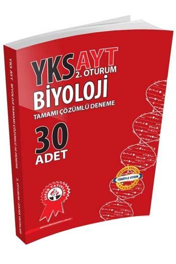 Zafer Yayinlari YKS 2. Oturum AYT Biyoloji Tamami Çözümlü 30 Deneme