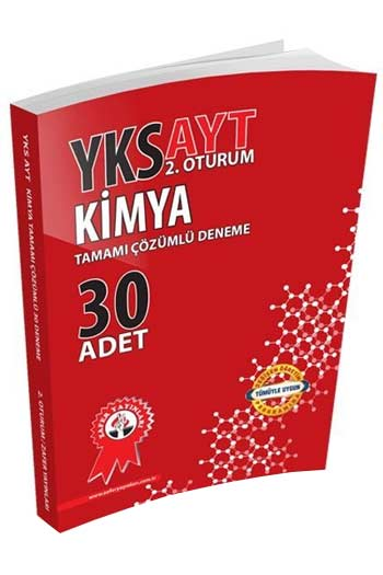 Zafer Yayinlari YKS 2. Oturum AYT Kimya Tamami Çözümlü 30 Deneme