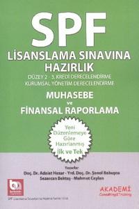 Akademi Yayinlari SPF Lisanslama Sinavlarina Hazirlik Muhasebe ve Finansal Raporlama