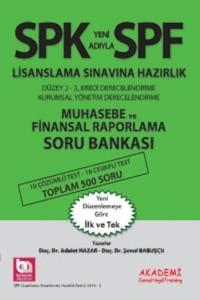 Akademi Yayinlari SPF Lisanslama Sinavlarina Hazirlik Düzey 2-3 Muhasebe ve Finansal Raporlama Soru Bankasi