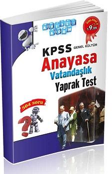 Akilli Adam Yayinlari KPSS Anayasa Yaprak Test