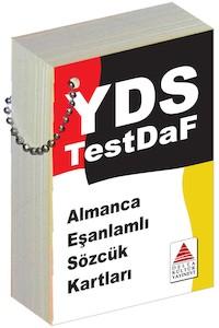 Delta Kültür Yayinlari Almanca Esanlamli Sözcük Kartlari - YDS, TestDAF