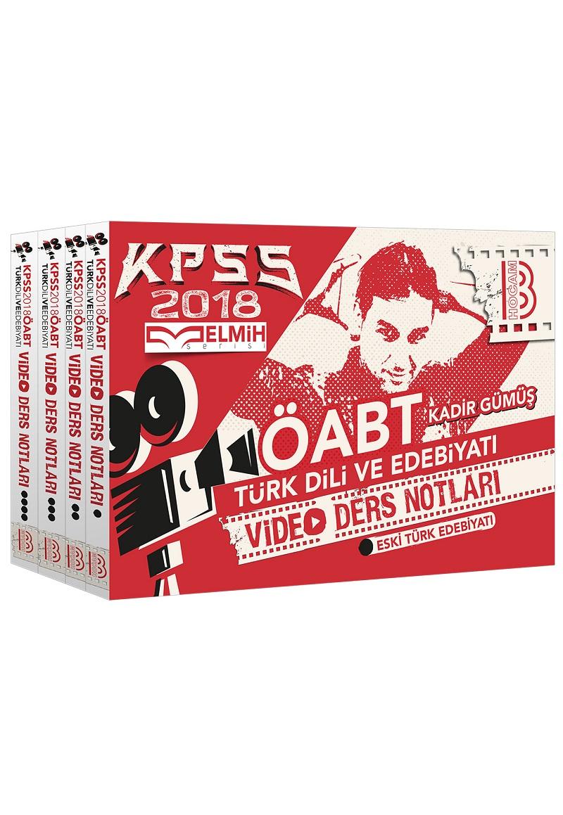 Benim Hocam Yayinlari 2018 ÖABT Türk Dili ve Edebiyati Ögretmenligi Modüler Video Ders Notu Seti