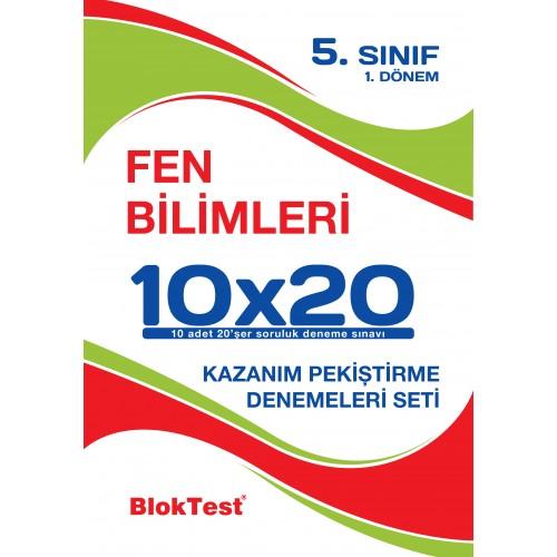 Bloktest 5.Sinif Fen Bilimleri 2. Dönem 10X20 Denemeleri