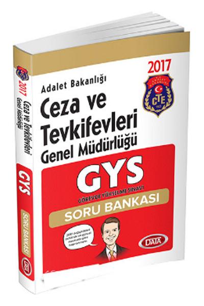 Data Yayinlari GYS Adalet Bakanligi Ceza ve Tevkifevleri Genel Müdürlügü Soru Bankasi