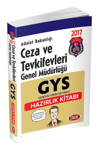 Data Yayinlari GYS Adalet Bakanligi Ceza ve Tevkifevleri Genel Müdürlügü Hazirlik Kitabi