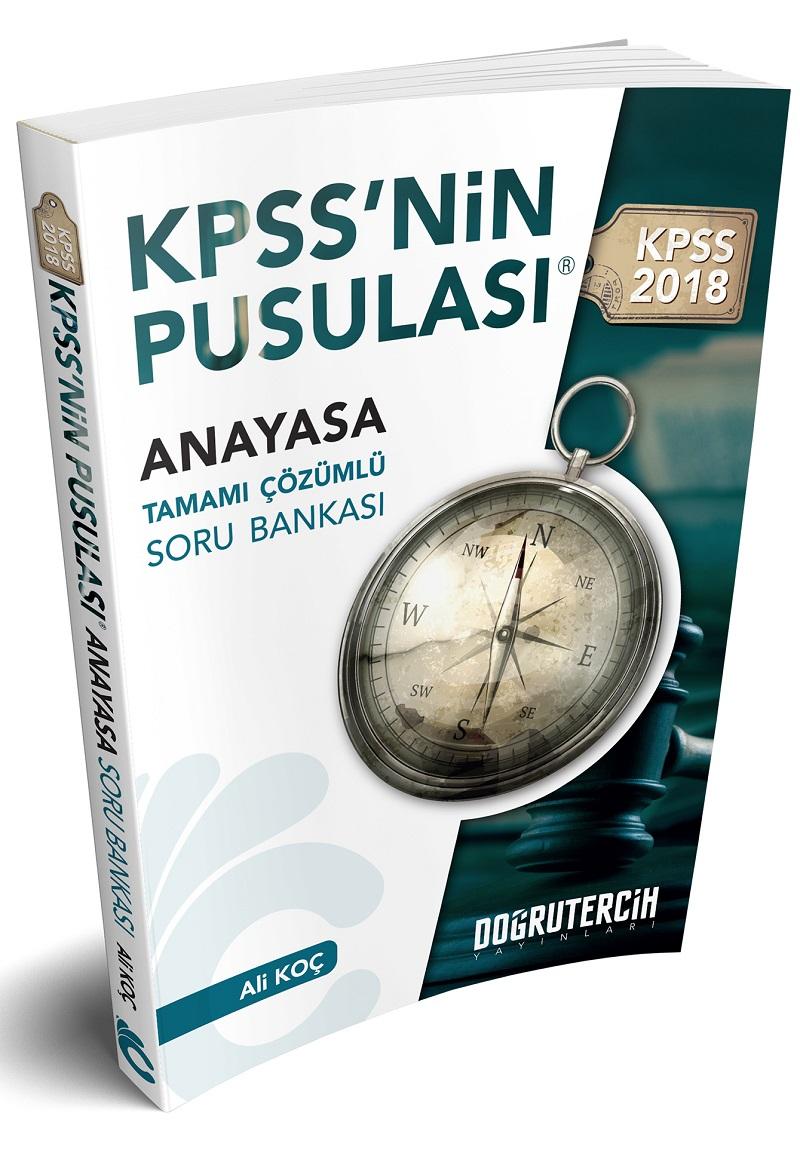 Dogru Tercih Yayinlari 2018 KPSS nin Pusulasi Vatandaslik Soru Bankasi