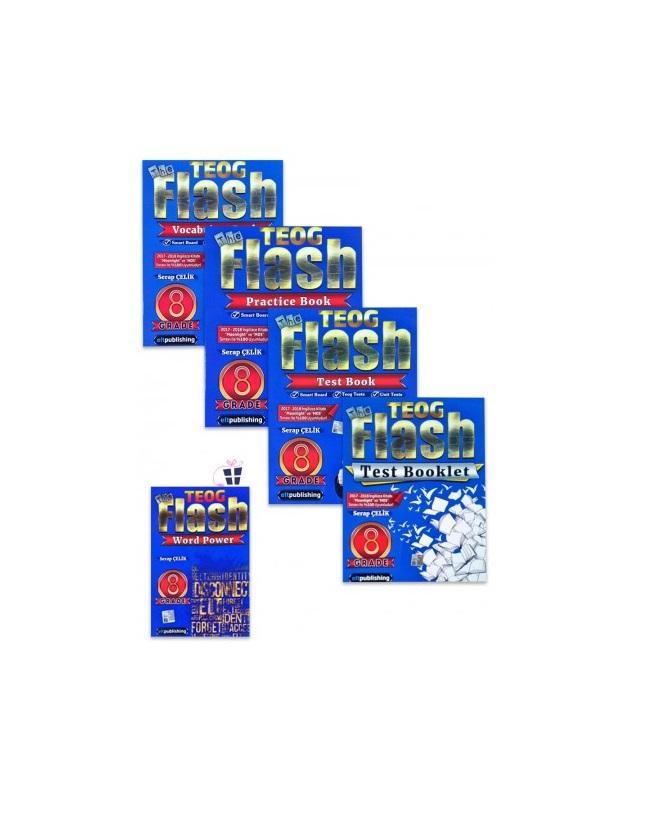 Elt Publishing Flash Grade 8 Tüm Set + Flash Grade 8 Word Power Hediye