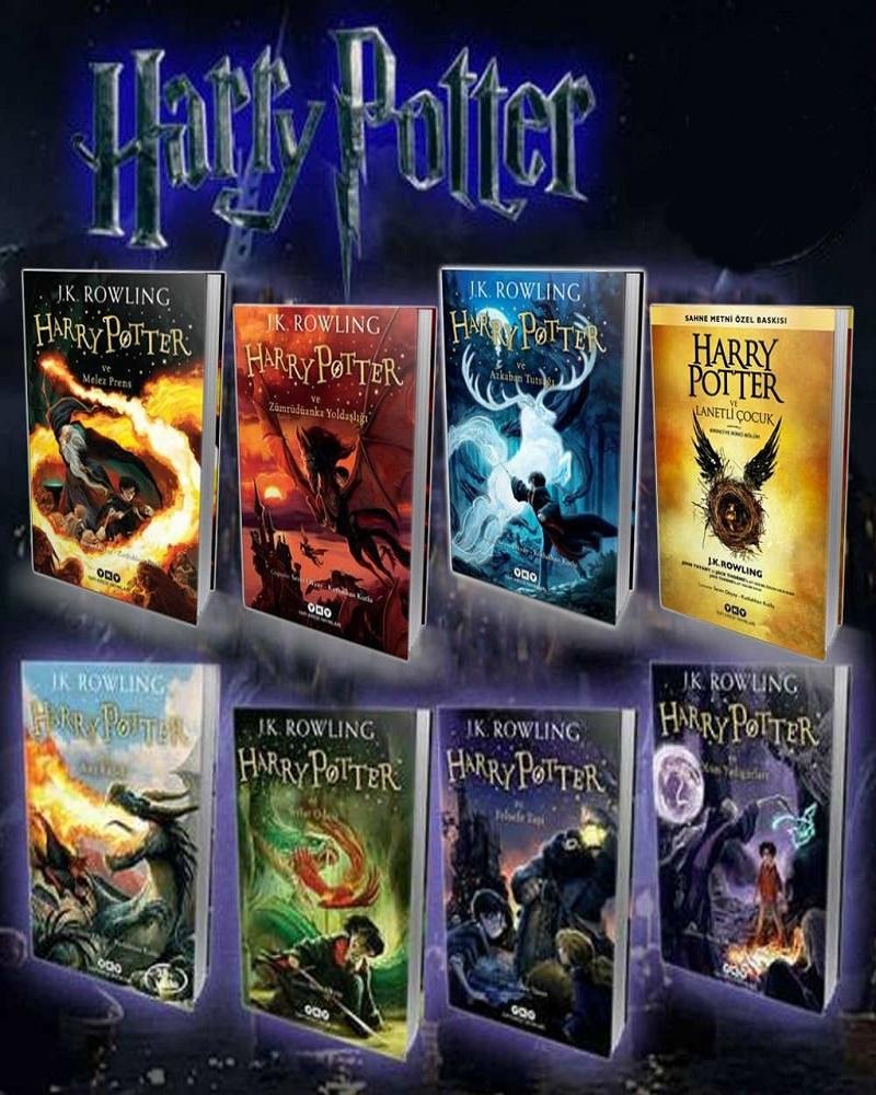 Harry Potter 8 Kitap Tam Set Yapi Kredi Yayinlari