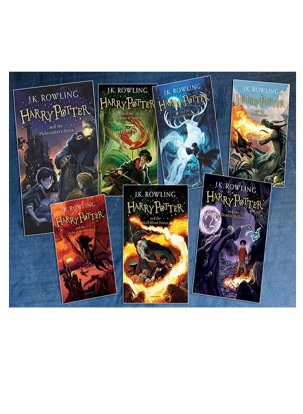 Harry Porter 7 Kitap Tam Set Yapi Kredi Yayinlari