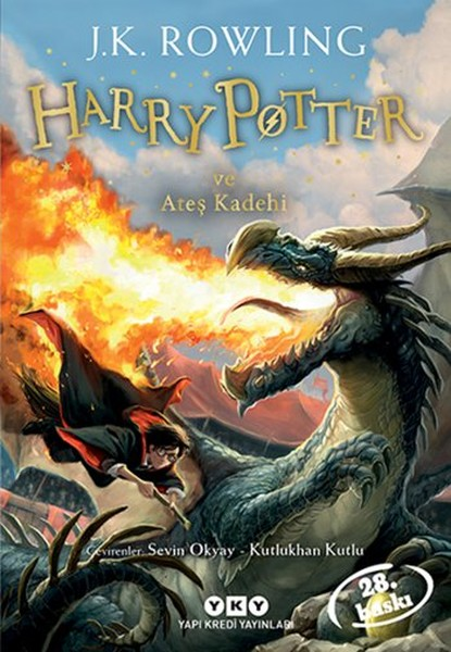 Harry Potter ve Ates Kadehi 4.Kitap Yapi Kredi Yayinlari