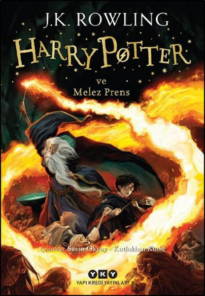 Harry Potter ve Melez Prens 6.Kitap Yapi Kredi Yayinlari