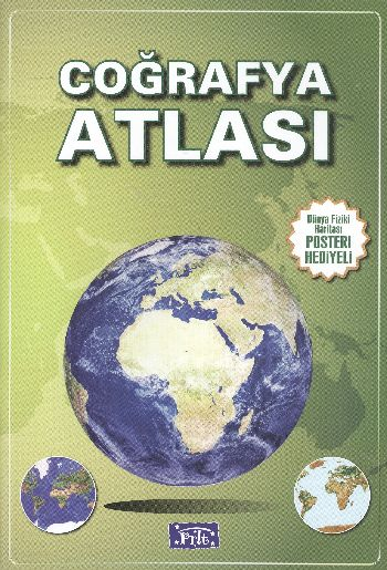 Ilkögretim Cografya Atlasi Parilti Kitap