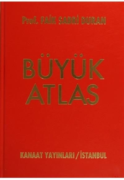 Kanaat Yayinlari Büyük Atlas Ciltli