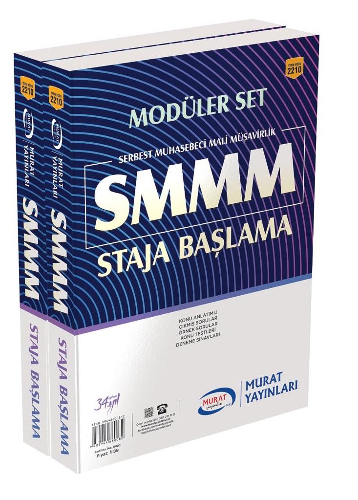 Murat Yayinlari SMMM Staja Baslama Konu Anlatimli Modüler Set