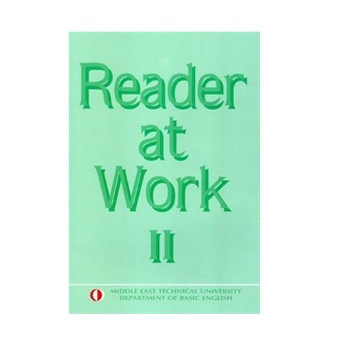 Odtü Yayincilik Reader at Work 2