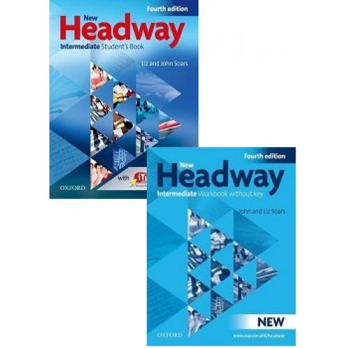 Oxford Headway Intermediate Students Book And Workbook With Audio CD