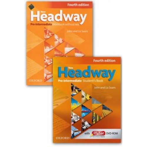 Oxford New Headway Pre-intermediate Fourth Edition Workbook and Student Book