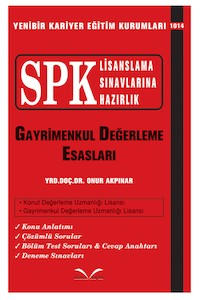 SPK Gayrimenkul Degerleme Esaslari Ikinci Sayfa Yayinlari