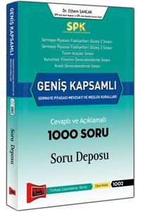 SPK Genis Kapsamli Sermaye Piyasasi Mevzuati ve Meslek Kurallari Cevapli ve Açiklamali 1000 Soru Deposu Yargi Yayinlari