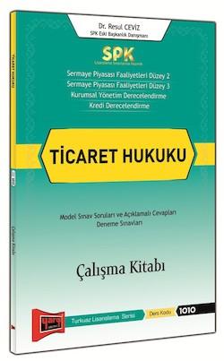 Yargi Yayinlari SPK Ticaret Hukuku Çalisma Kitabi