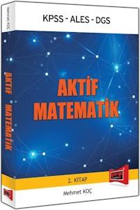 Yargi Yayinlari 2016 KPSS ALES DGS Için Aktif Matematik 2.Kitap