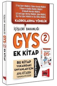 Yargi Yayinlari GYS Içisleri Bakanligi Konu Özetli Soru Bankasi Ek Kitabi