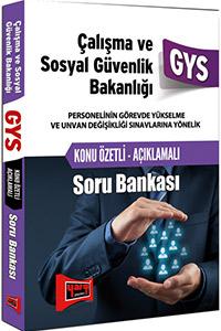 Yargi Yayinlari 2016 GYS Çalisma ve Sosyal Güvenlik Bakanligi Konu Özetli Soru Bankasi