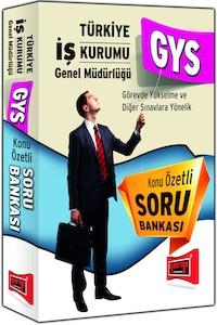 Yargi Yayinlari Türkiye Is Kurumu GYS Sinavi Konu Özetli Soru Bankasi