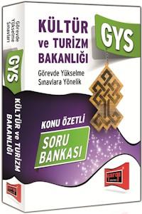 Yargi Yayinlari Kültür ve Turizm Bakanligi GYS Konu Özetli Soru Bankasi