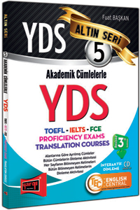YDS Akademik Cümlelerle YDS-TOEFL-IELTS-FCE Altin Seri 5 Yargi Yayinlari