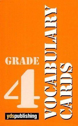Ydspuplishing Yayinlari Grade 4 Vocabulary Cards