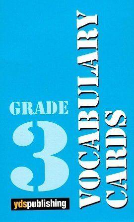 Ydspuplishing Yayinlari Grade 3 Vocabulary Cards