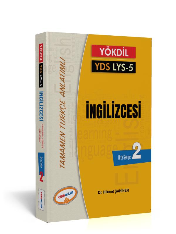 Yediiklim Yayinlari YÖKDIL YDS Ayt 5 Ingilizce Kelimeleri Seviye 2