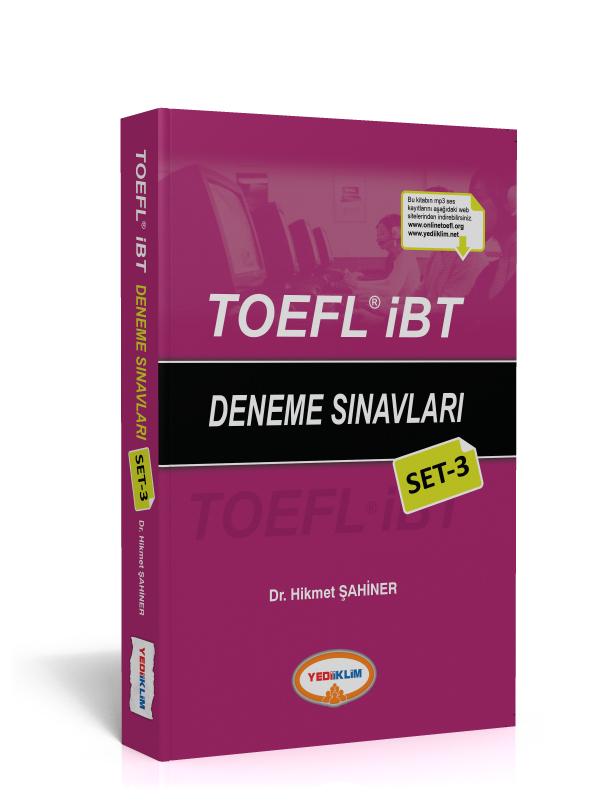 Yediiklim Yayinlari TOEFL EBT Deneme Sinavlari Set 3