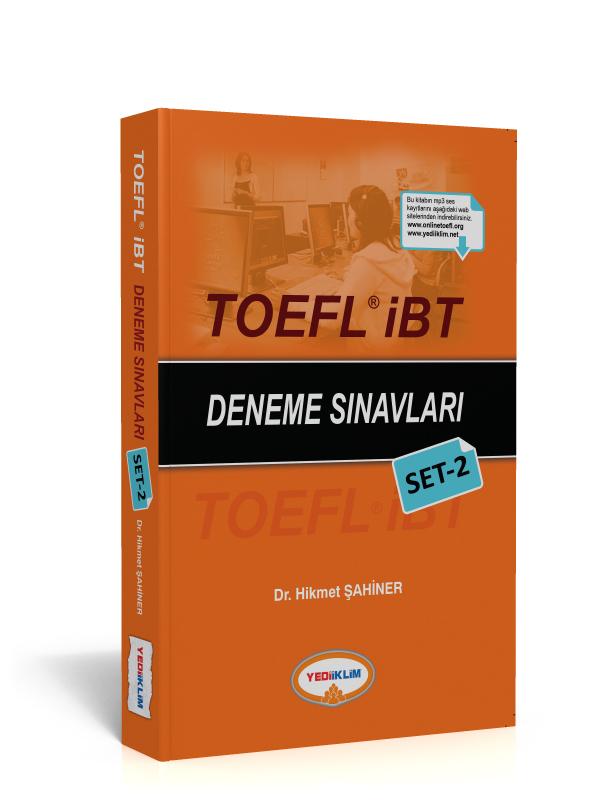 Yediiklim Yayinlari TOEFL IBT Deneme Sinavlari Set 2