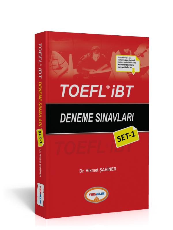 Yediiklim Yayinlari TOEFL IBT Deneme Sinavlari Set 1