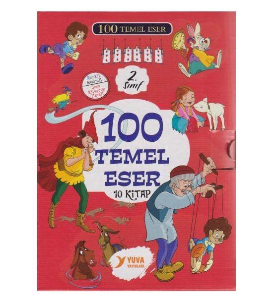Yuva Yayinlari 100 Temel Eser 2. Sinif 10 Kitap Takim